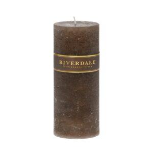 Candle Pillar mocha 10x20cm