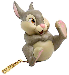 """WDCC Thumper """"""""Belly lough ornament """""""""""