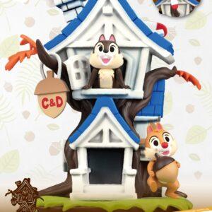 Disney: Chip 'n' Dale Tree House PVC Diorama