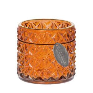 Sfeerlicht Ezra star burnt oranje 7cm