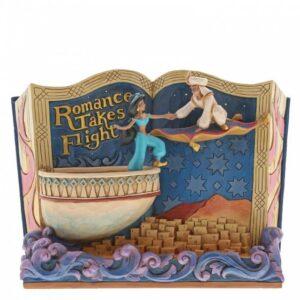 Romance Takes Flight (Aladdin Storybook Figurine)