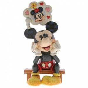 Thinking of You (Mickey Mouse with Thought Fiurine)