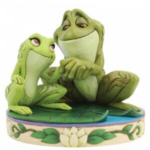 Amorous Amphibians (Tiana & Naveen as Frogs Figurine)