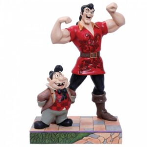 Muscle-Bound Menace (Gaston & Lefou Figurine)