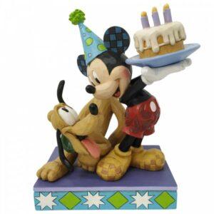 Happy Birthday, Pal! (Pluto & Mickey Birthday Figurine)