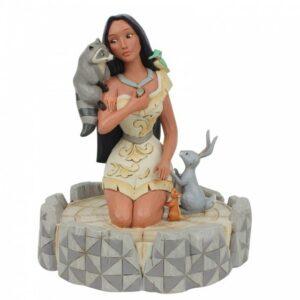 Brave Beauty (White Woodland Pocahontas Figurine)