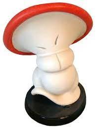 Large, Medium & Small Mushroom
