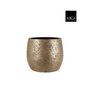 Clemente pot rond Goud H31XD38CM