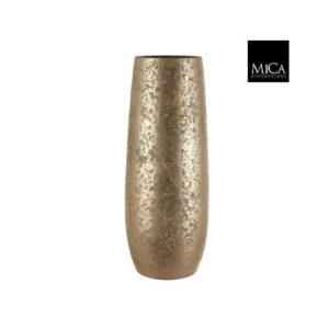 Clemente vaas rond goud - h55xd21,5cm