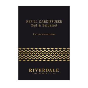 Refill Car perfume Milou black