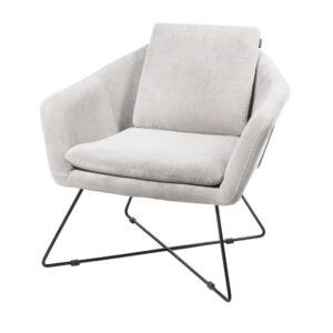 Lounge chair Ridge light grey 82cm