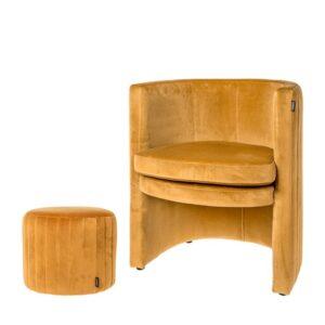 Chair Julie ocher gold 76cm