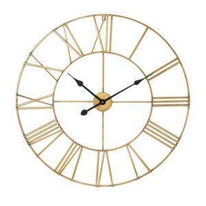 Wall clock Wales gold 102cm