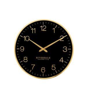 Wall clock Ritz black 40cm
