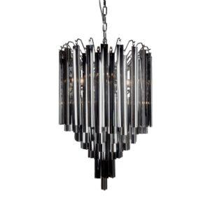 Lamp hanging Sienna smoke 43cm