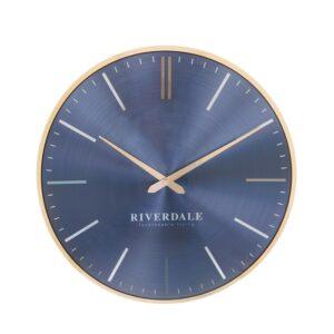 Wall clock Milena violet 30cm