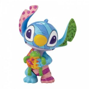 Stitch with Frog Mini Figurine