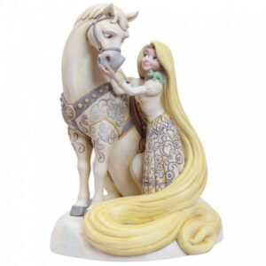 Innocent Ingenue (White Woodland Rapunzel Figurine)