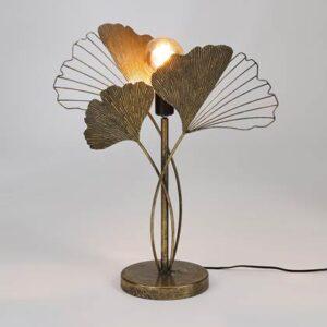 Ulrik tafellamp goud 25W-E27 - l46,5xb20,5xh62,5cm
