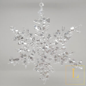 Ornament Sneeuwvlok Acryl