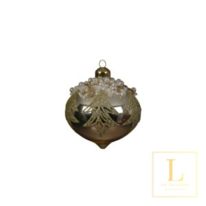 Ornament Goud Glas