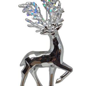 Ornament Hert Zilver