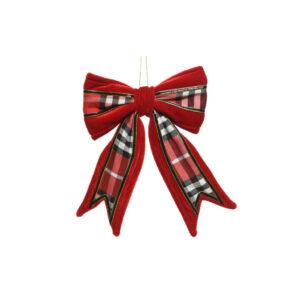 Ornament Strik Fluwel
