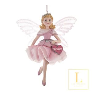 Ornament Pink Fairy