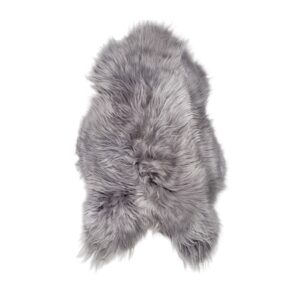 Sheepskin dark grey 110cm