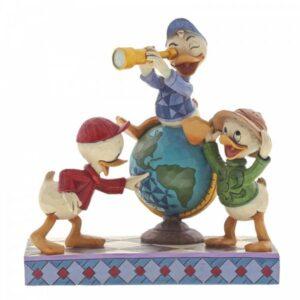 Navigating Nephews (Huey, Dewie & Louie Figurine)