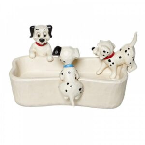 Puppy Bowl (101 Dalmatians Bone Shaped Dish) N