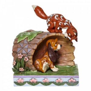 Unlikely Friends (Fox & Hound Figurine) N