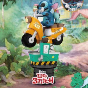 Disney: Lilo and Stitch - Stitch Coin Ride PVC Diorama