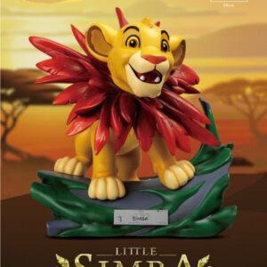 Disney: The lion king Master Craft Little Simba Statue