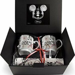 SET 2 STACKABLE MUGS + 2 PLACEMAT PP ROME