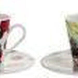 SET 2 ESPRESSO CUPS MICKEY H. CM. 6