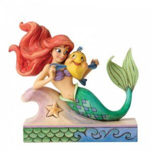 Fun & Friends (Ariel with Flounder Figurine)