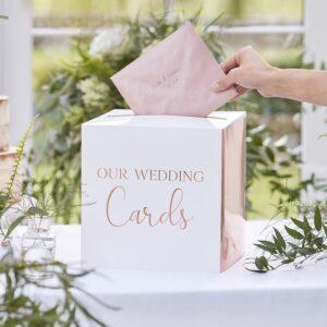 Botanical Wedding - Card Box