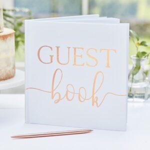 Botanical Wedding - Foiled Guest Book
