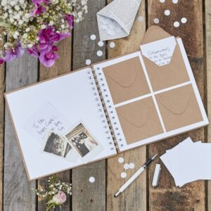Rustic Country - Guestbook - Mini Envelope