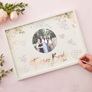 Floral Hen Party -Frame Guest Book