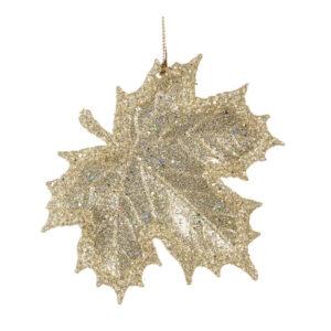 Ornament Blad Goud