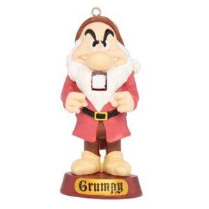 GRUMPY NUTCRACKER ORNAMENT