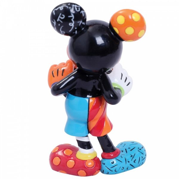 Mickey Mouse with Heart Mini Figurine