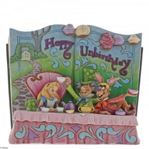 Happy Unbirthday (Alice in Wonderland Tea Party Storybook Figurine)