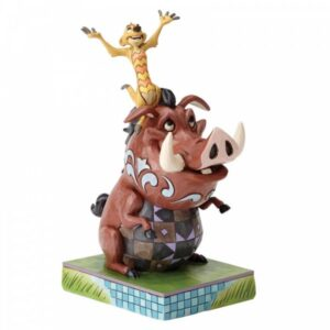 Carefree Cohorts - Timon & Pumbaa Figurine