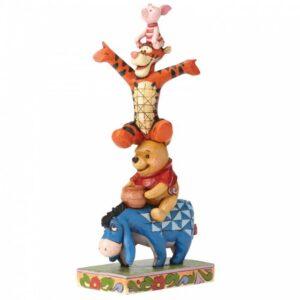 Built By Friendship (Eeyore, Winnie the Pooh, Tigger & Piglet Figurine)