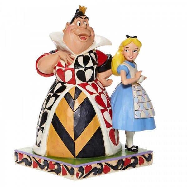 Chaos & Curiosity - Alice & Queen Of Hearts Figurine