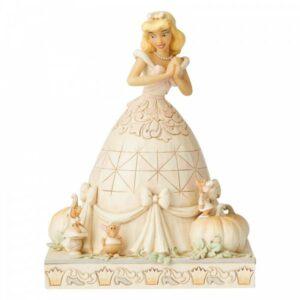 Darling Dreamer (White Woodland Cinderella Figurine)