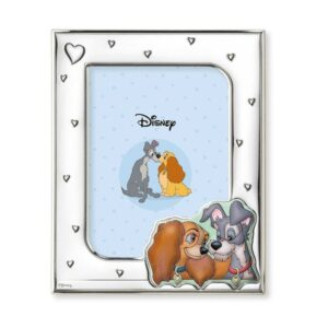 LILLY & THE TRAMP PHOTO FRAME 13x18 BLUE